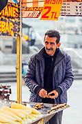 Chestnut stand, Istanbul, Turkey, 2015–11-16.