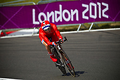 LONDON 2012 PARALYMPICS CYCLING
