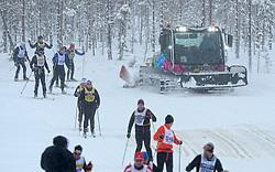 06-03-2016 SWE: Vasaloppet Challenge BvdGF day 7, Sälen<br /> Vandaag een rustig dagje, 90 km langlaufen van Sälen naar Mora in bizarre omstandigheden / Sporters, Sneeuw piste, loipe