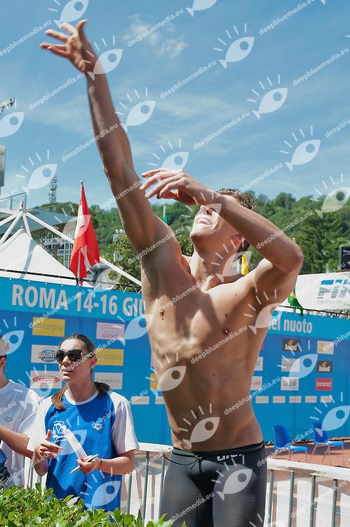 CIELO Cesar Brazil BRA.Roma Italy 14-16 June 2012.Stadio del Nuoto - Foro Italico.49 Trofeo Settecolli Herbalife 2012.Day01.Photo G.Scala/Deepbluemedia/Wateringphoto