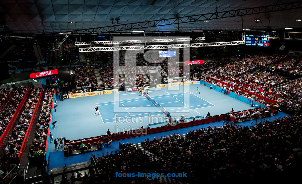 General view during the final of the Erste Bank Open at Wiener Stadthalle, Vienna, Austria.<br /> Picture by EXPA Pictures/Focus Images Ltd 07814482222<br /> 30/10/2016<br /> *** UK &amp; IRELAND ONLY ***<br /> EXPA-PUC-161030-0329.jpg