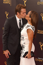 Carrie Ann Inaba; Robb Derringer bei der Ankunft zur Verleihung der Creative Arts Emmy Awards in Los Angeles / 110916 <br /> <br /> *** Arrivals at the Creative Arts Emmy Awards in Los Angeles, September 11, 2016 ***