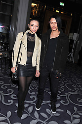 LEAH WELLER and NAT WELLER at a party hosted by Vauxhall Motors to celebrate their collaboration with menswear designer James Small following his Autumn/Winter 2012 show during London Fashion Week held at Corinthia Hotel, London on 22nd February 2012.