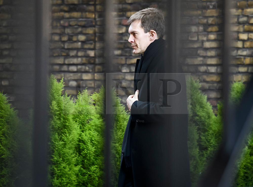 © Licensed to London News Pictures. 27/02/2019. London, UK. Labour Party Director of Strategy SEUMAS MILNE is seen at The House of Parliament after PMQs and after an investigation was launched in to MP Chris Williamson for remarks he made about Labour Party handling of anti-semitism. Photo credit: Ben Cawthra/LNP