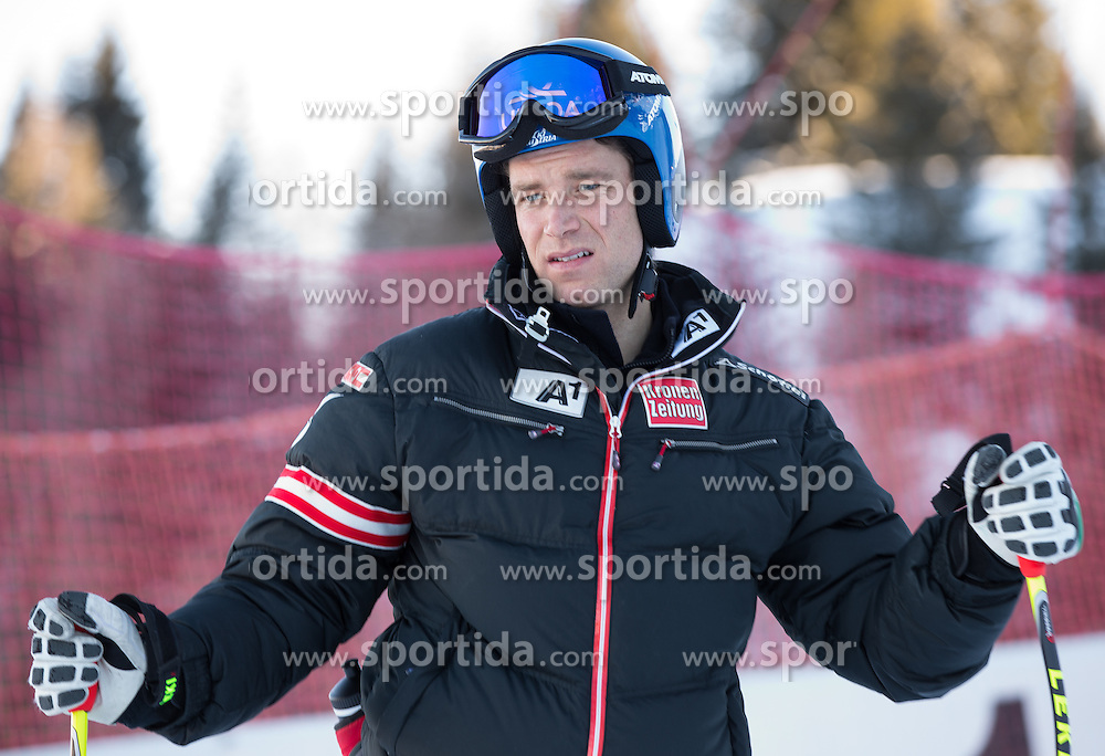 23.01.2013, Streif, Kitzbuehel, AUT, FIS Weltcup Ski Alpin, Abfahrt, Herren, 2. Training, im Bild Benjamin Raich (AUT) // Benjamin Raich of Austria at the Course inspection during 2nd practice of mens Downhill of the FIS Ski Alpine World Cup at the Streif course, Kitzbuehel, Austria on 2013/01/23. EXPA Pictures © 2013, PhotoCredit: EXPA/ Johann Groder