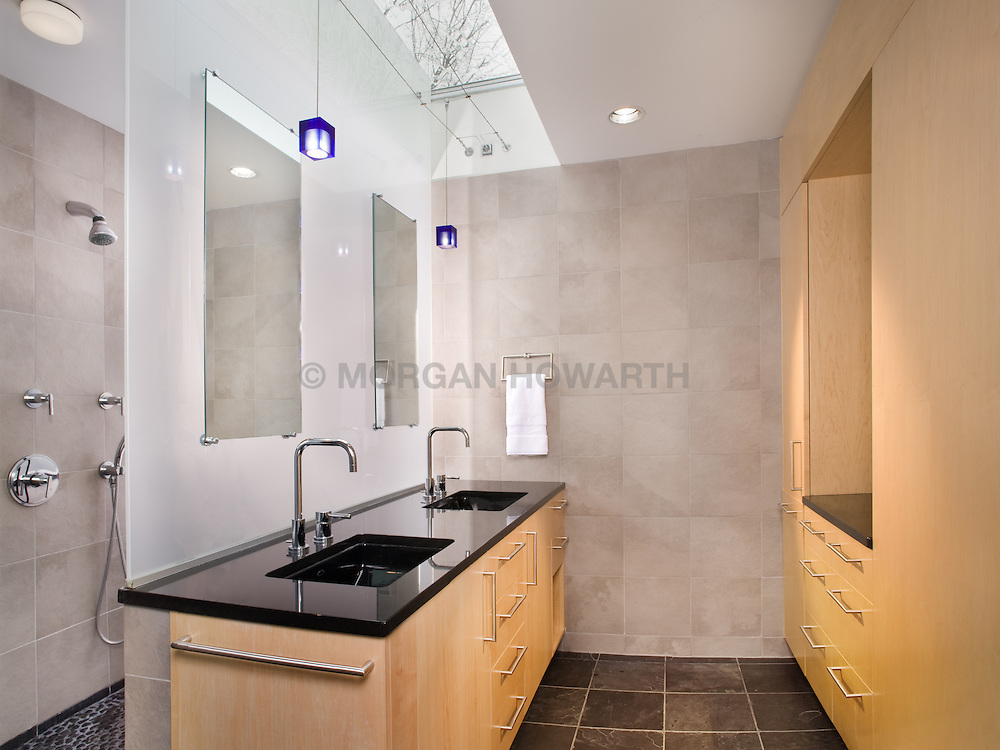 Ben Ames Architect Catherine Hailey interior designer Master Bathroom