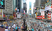 © licensed to London News Pictures. New York, USA  30/05/11. Times Square. Photo credit should read Stephen Simpson/LNP
