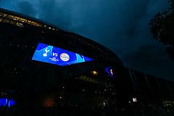 General View outside the Tottenham Hotspur Stadium - Rogan/JMP - 01/10/2019 - FOOTBALL - Tottenham Hotspur Stadium - London, England - Tottenham Hotspur v Bayern Munich - UEFA Champions League Group B.