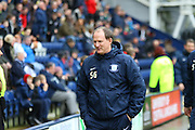 Simon Grayson during the Sky Bet Championship match between Preston North End and Huddersfield Town at Deepdale, Preston, England on 6 February 2016. Photo by Pete Burns.