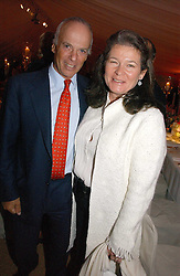 MR & MRS MICHEL DE CARVALHO, she is the Heineken brewing heiress at the annual Chelsea Flower Show dinner hosted by jewellers Cartier at the Chelsea Pysic Garden, London on 22nd May 2006.<br /><br />NON EXCLUSIVE - WORLD RIGHTS