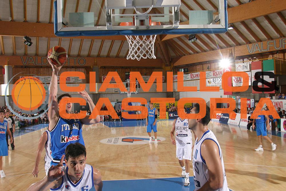 DESCRIZIONE : Bormio Trofeo Internazionale Diego Gianatti Grecia Italia <br /> GIOCATORE : Michelori <br /> SQUADRA : Italia <br /> EVENTO : Bormio Trofeo Internazionale Diego Gianatti Grecia Italia <br /> GARA : Grecia Italia <br /> DATA : 23/07/2006 <br /> CATEGORIA : Tiro <br /> SPORT : Pallacanestro <br /> AUTORE : Agenzia Ciamillo-Castoria/S.Silvestri