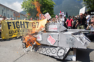 g7 summit Antimilitarist protest