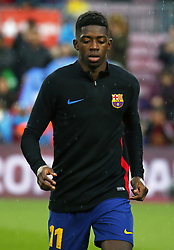 January 7, 2018 - Barcelona, Catalonia, Spain - Ousmane Dembele  during the Spanish league football match FC Barcelona vs Levante UD at the Camp Nou stadium in Barcelona on January 7, 2018. (Credit Image: © Joan Valls/NurPhoto via ZUMA Press)