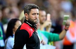 Bristol City head coach Lee Johnson - Mandatory by-line: Robbie Stephenson/JMP - 16/08/2016 - FOOTBALL - Carrow Road - Norwich, England - Norwich City v Bristol City - Sky Bet Championship