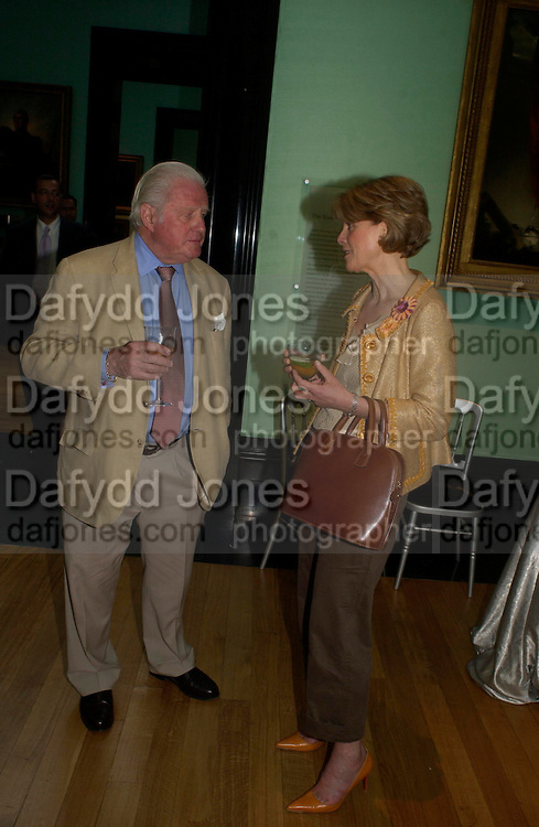 Viscount Norwich and Anne Sebba. Celebration of Lord Weidenfeld's 60 Years in Publishing hosted by Orion. the Weldon Galleries. National Portrait Gallery. London. 29 June 2005. ONE TIME USE ONLY - DO NOT ARCHIVE  © Copyright Photograph by Dafydd Jones 66 Stockwell Park Rd. London SW9 0DA Tel 020 7733 0108 www.dafjones.com