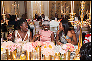 ATONA DAMCHI; SALEWA ODUKALE; NELA DUKE, Florence Heoluwa 'Cuppy' Otedola Marie Antoinette Graduation party. Mandarin Oriental, Knightsbridge25th of July 2014.