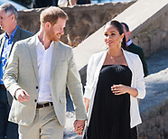 Meghan Markle & Harry Visit Andalusian Gardens