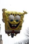 26 November 2009, NY, NY- Sponge Bob at The 2009 Macy's Day Parade held on November 26, 2009 in New York City. Terrence Jennings/Sipa