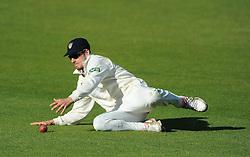 Benny Howell of Gloucestershire - Mandatory byline: Dougie Allward/JMP - 07966386802 - 22/09/2015 - Cricket - County Ground -Bristol,England - Gloucestershire CCC v Glamorgan CCC - LV=County Championship