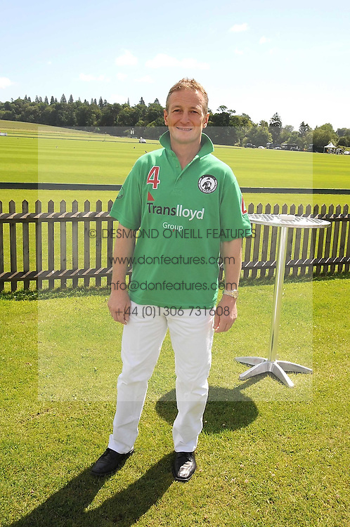 RICHARD DUNWOODY at a Pro-Celebrity Polo match in aid of the Mark Davies Injured Riders Fund Charity Day held at Cowdray Park, West Sussex on 22nd June 2008.<br /><br />NON EXCLUSIVE - WORLD RIGHTS