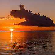 Amazon Cloud Sunset