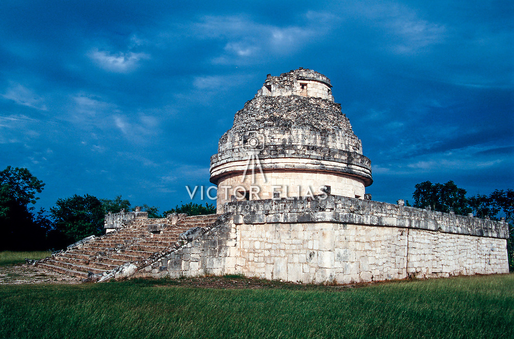 Temple El Caracol at Uxmal.