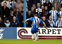 Photo: Olly Greenwood.<br />Colchester United v Southampton. Coca Cola Championship. 28/10/2006. Colchester's Jamie Cureton scores the second goal.