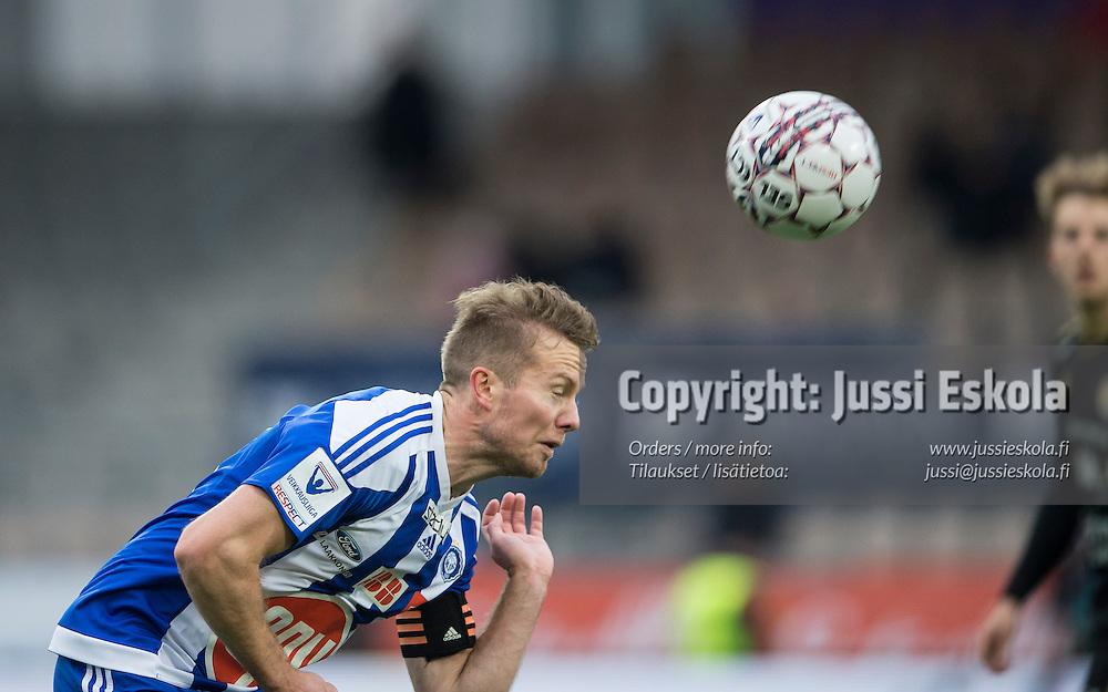Sebastian Sorsa. HJK - SJK. Veikkausliiga. Helsinki. 23.10.2016. Photo: Jussi Eskola
