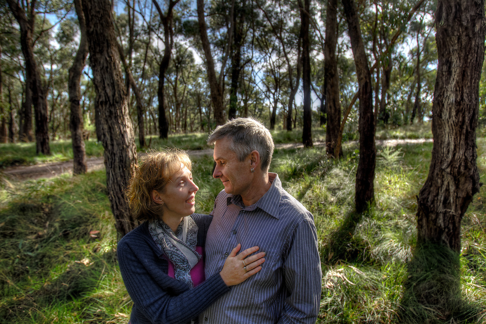 Story about early onset Alzheimer's.   Mandy and Garry Lovell are dealing with his illness. Pic By Craig Sillitoe CSZ/The Sunday Age.29/7/2011 melbourne photographers, commercial photographers, industrial photographers, corporate photographer, architectural photographers, This photograph can be used for non commercial uses with attribution. Credit: Craig Sillitoe Photography / http://www.csillitoe.com<br /> <br /> It is protected under the Creative Commons Attribution-NonCommercial-ShareAlike 4.0 International License. To view a copy of this license, visit http://creativecommons.org/licenses/by-nc-sa/4.0/.