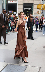 Allison Williams is seen leaving Build Studios. . 23 May 2019 Pictured: Allison Williams . Photo credit: Joe Russo / MEGA TheMegaAgency.com +1 888 505 6342