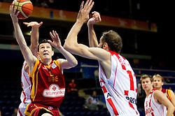 Vlado Ilievski of Macedonia during basketball game between National basketball teams of  Georgia and Former Yugoslav Republic of Macedonia at FIBA Europe Eurobasket Lithuania 2011, on September 8, 2011, in Siemens Arena,  Vilnius, Lithuania. (Photo by Vid Ponikvar / Sportida)