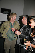 Matthew Modine, Rifat Ozbec and Matthew Modine and Delila Khomo, Michael Roberts - book launch party hosted by Vanity Fair to celebrate  publication, Shot In Sicily. Hamiltons Gallery, 13 Carlos Place, London,17 September 2007. -DO NOT ARCHIVE-© Copyright Photograph by Dafydd Jones. 248 Clapham Rd. London SW9 0PZ. Tel 0207 820 0771. www.dafjones.com.