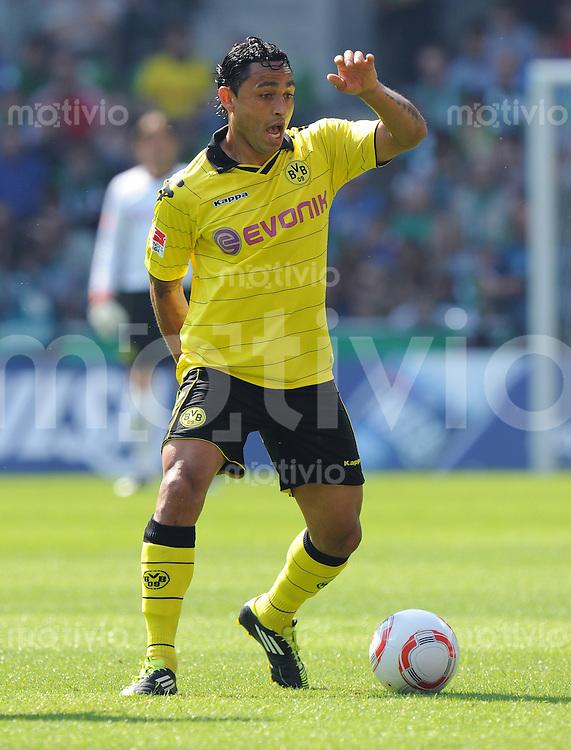 FUSSBALL   1. BUNDESLIGA   SAISON 2010/2010   33. Spieltag SV Werder Bremen - Borussia Dortmund                 07.05.2011 Antonio DA SILVA (Borussia Dortmund) Einzelaktion am Ball