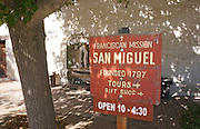 Mission San Miguel State and National Historic Site