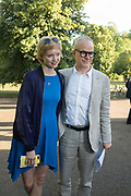 LILY COLE; HANS ULRICH OBRIST, Opening of Christo and Jeanne-Claude: ,Barrels and the Mastaba 1958 - 2018, London, 21 June 2018
