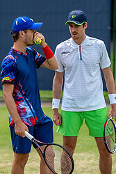 13-06-2019 NED: Libema Open, Rosmalen<br /> Grass Court Tennis Championships / Wesley Koolhof NED and Marcus Daniell NZL