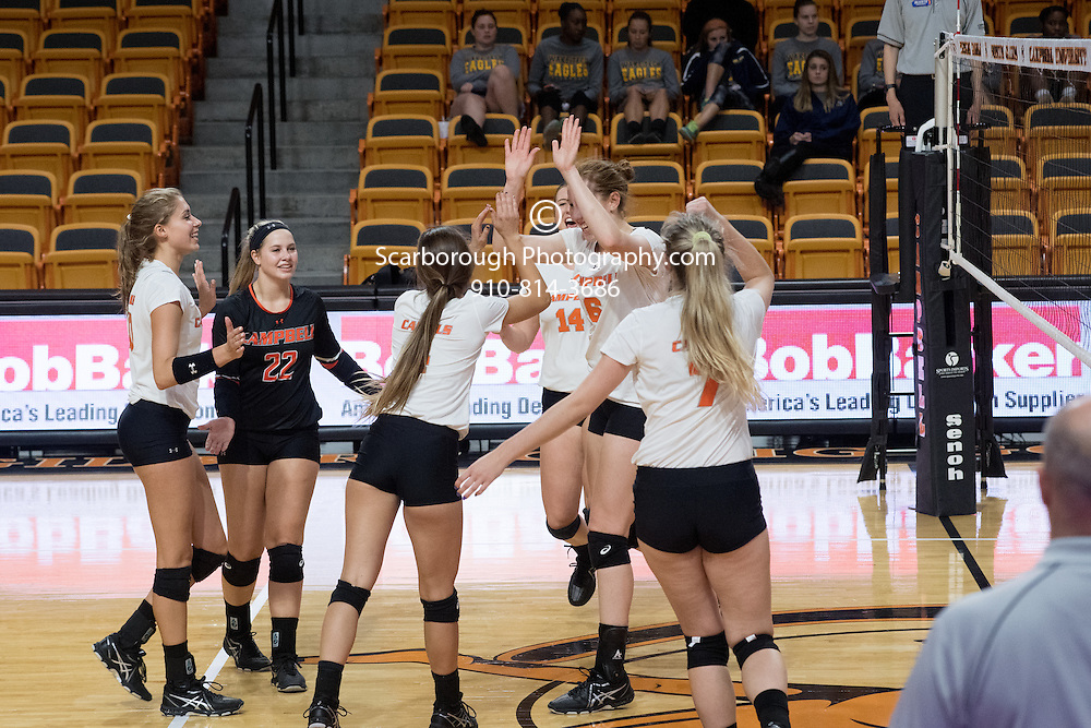 2016 Campbell University Volleyball vs NC A&T