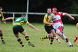 WELLINGBOROUGH ANDY FORDHAM ATTACKS BUGBROOKE Wellingborough Rugby RFC v Bugbrooke RFC, Midlands 1 East League, Cut Throat Lane Gound, Gt Doddington, Saturday 3rd September 2016
