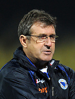 Football Fifa Brazil 2014 World Cup Matchs-Qualifier / Europe - Group G /<br /> Lithuania vs Bosnia-Herzegovina 0-1 ( S. Darius & S. Girenas Stadium - Kaunas, Lithuania )<br /> Safet SUSIC - Coach of Bosnia-Herzegovina  , during the match between Lithuania and Bosnia-Herzegovina