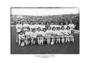 Tyrone panel- All Ireland Minor Football Final<br />