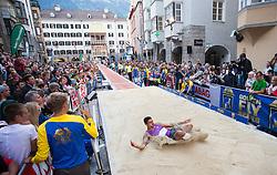 25.05.2016, Altstadt, Innsbruck, AUT, Golden Roof Challenge, Weitsprung Herren, im Bild Weitspringer Michel Torneus (SWE) // Long Jumper Michel Torneus of Sweden during Mens long jump at Golden Roof Challenge at the Altstadt in Innsbruck, Austria on 2016/05/25. EXPA Pictures © 2016, PhotoCredit: EXPA/ Jakob Gruber