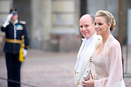 Prince Albert II and Princess Charlene de Monaco