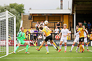 Cambridge Utd midfielder Luke Berry (8) with a chance during the EFL Sky Bet League 2 match between Cambridge United and Luton Town at the R Costings Abbey Stadium, Cambridge, England on 27 August 2016. Photo by Nigel Cole.