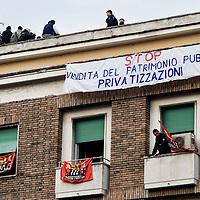 Sgomberato stabile occupato al quartiere Parioli