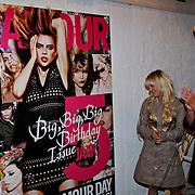 NLD/Amsterdam/20100901 - Glamour magazine bestaat 5 jaar, onthulling cover, Nicolette van Dam, Laura Verster, Hanna Verboom, Stacey Rookhuizen