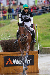 Gabriel Figueiredo Silva Cury, (BRA), Grass Valley - Eventing Cross Country test- Alltech FEI World Equestrian Games™ 2014 - Normandy, France.<br /> © Hippo Foto Team - Leanjo de Koster<br /> 30/08/14