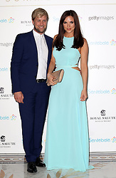 Kian Egan and Jodi Albert arriving at the Sentebale Summer Party in London, Wednesday, 7th May 2014. Picture by Stephen Lock / i-Images