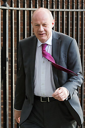 Downing Street, London, April 25th 2017. Work and Pensions Secretary Damian Green leaves the weekly cabinet meeting at 10 Downing Street in London. Credit: ©Paul Davey
