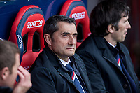 Ernesto Valverde of Athletic Club during the match of  La Liga between Club Atletico Osasuna and Athletic Club Bilbao at El Sadar Stadium  in Pamplona, Spain. April 01, 2017. (ALTERPHOTOS / Rodrigo Jimenez)
