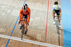 , NED, AUS, Sprint FInals, 2015 UCI Para-Cycling Track World Championships, Apeldoorn, Netherlands